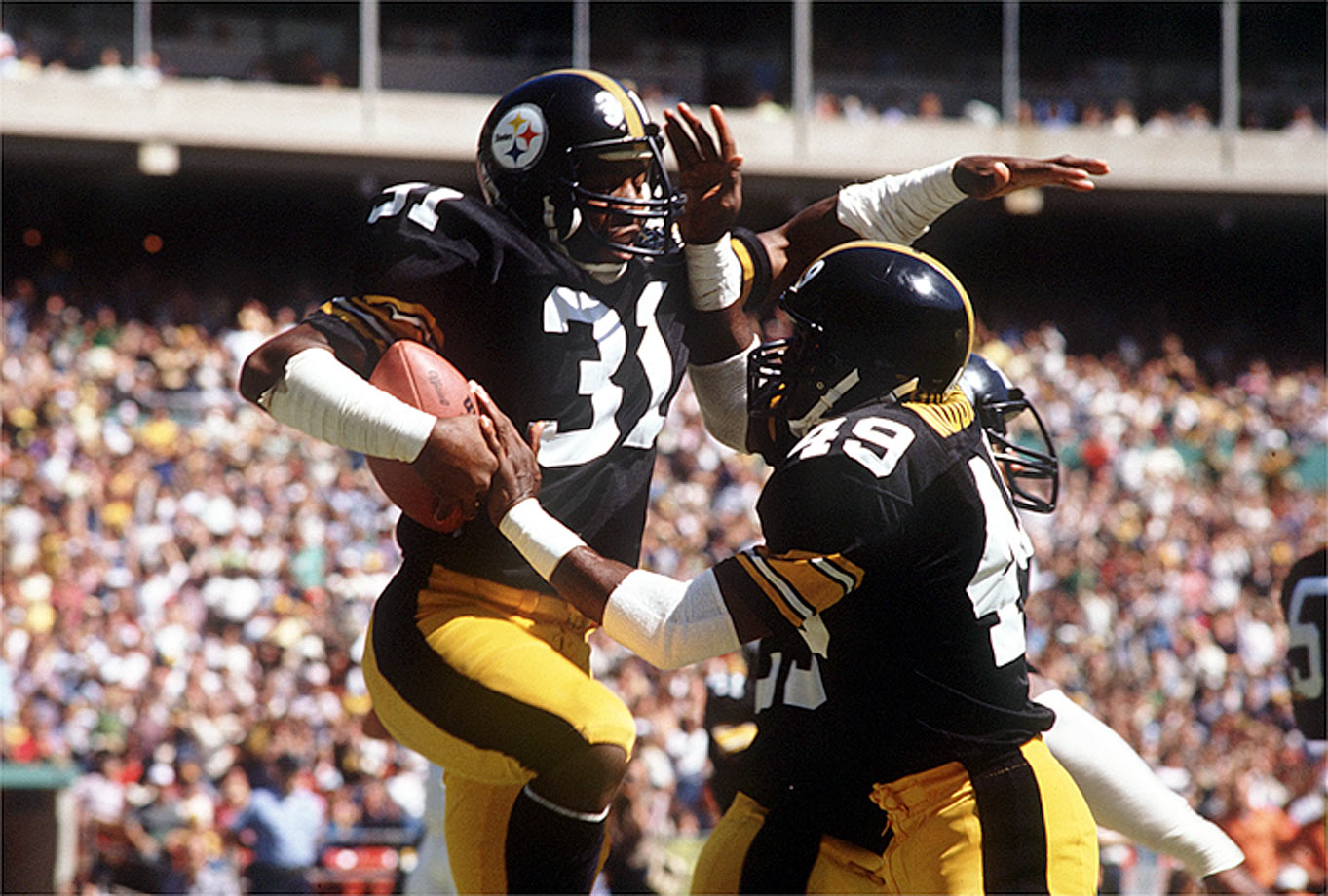 Despite rushing for 10,000 career yards, Jamal Lewis, another No. 31, is not bound for Canton. Shell—a 2002 finalist—does not seem likely to get there either, even with a stronger Hall résumé. As a starter beginning in the second half of Pittsburgh's 1970s dynasty, Shell was the type of rangy, box safety teams still covet.