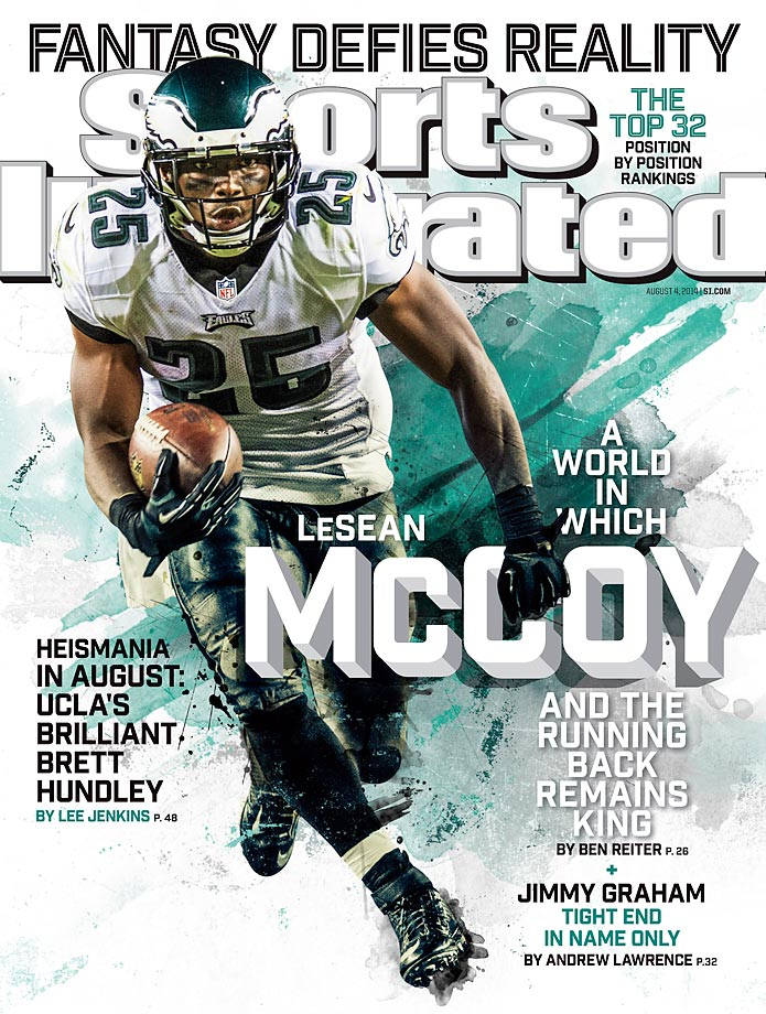 August 4, 2014 | The NFL's leading rusher in 2013, LeSean McCoy credits offseason workouts for the reason he has been able to stay healthy.