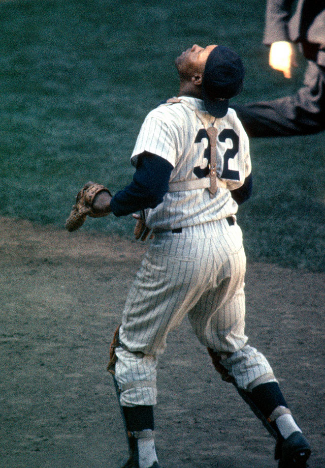The first African-American player in franchise history, Howard debuted with the Yankees in 1955 after three years in the Negro Leagues and a couple of seasons in the minors. As a catcher, Howard was an integral part of four World Series-winning teams as a player, with two more rings coming in 1977 and '78, when he was a coach with the Yankees. He won the AL MVP award in 1963 thanks to his stellar defense behind the plate, the first African-American player to be named most valuable player in that league, and he made the All-Star team nine consecutive times as a Yankee. Howard retired in 1968 and passed away at the age of 51 in 1980.