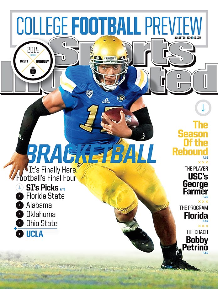 August 18, 2014 | UCLA quarterback Brett Hundley passed up NFL riches to try to lead UCLA back into the national spotlight.