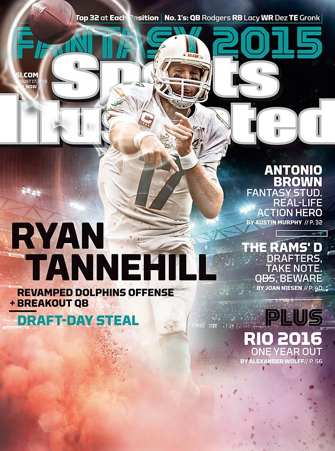 August 17, 2015 | Ryan Tannehill  could be this year's fantasy quarterback breakout as he attempts to lead the Dolphins to the playoffs.