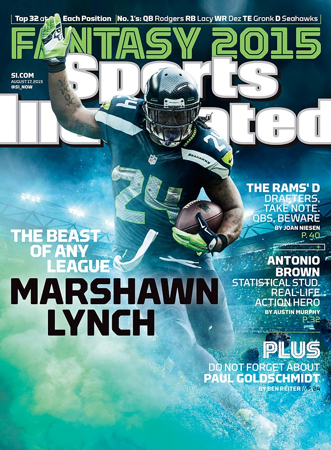 August 17, 2015 | Marshawn Lynch could be the safest pick of any other running back in fantasy football.