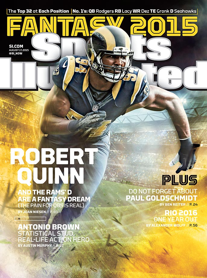 August 17, 2015 | Robert Quinn and the Rams defense are a fantasy owner's dream unit.