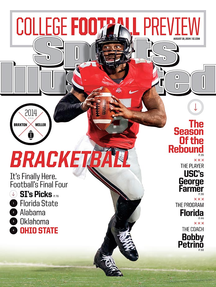 August 18, 2014 | Ohio State quarterback Braxton Miller looks for a better end of the season, after two consecutive losses knocked the Buckeyes out of the championship picture.