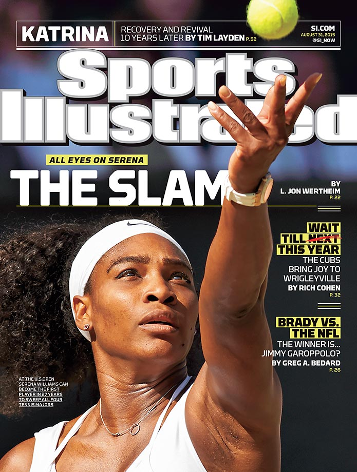 August 31, 2015 | Chasing history at the U.S. Open, Serena Williams is featured on this week's SI cover.