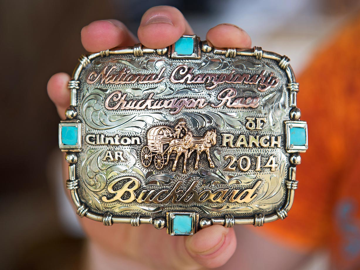 Championship buckles were awarded in each division. The buckles were custom made for the event by Monsoon Silver in Surprise, AZ.