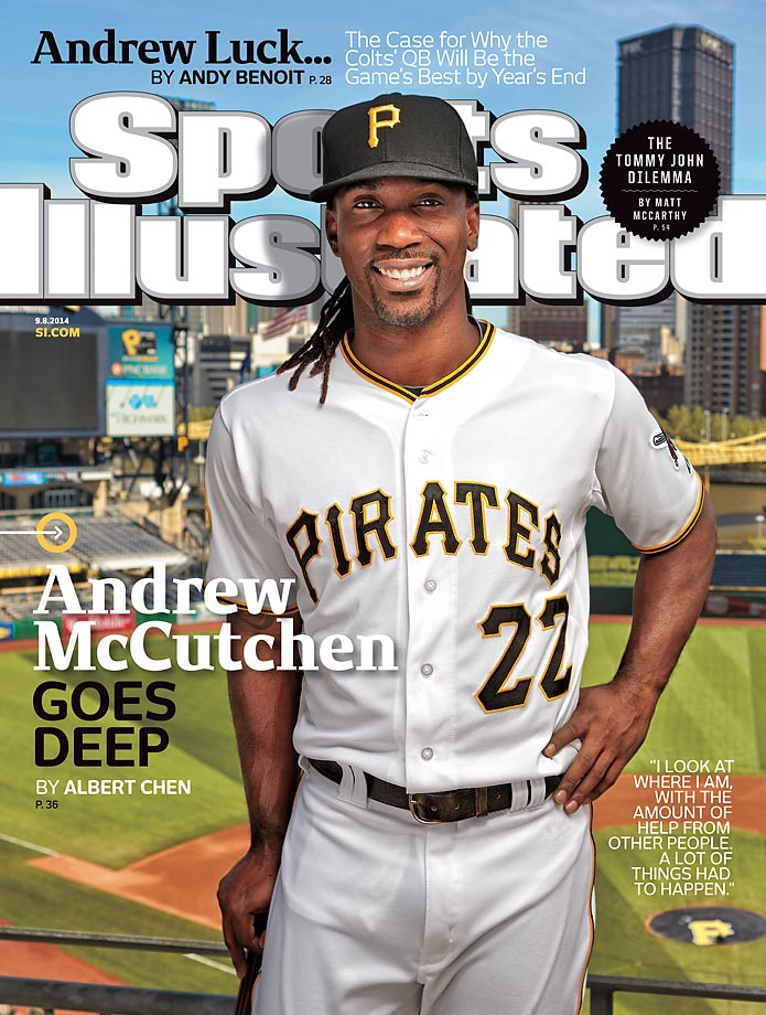 September 8, 2014 | The National League's reigning MVP Andrew McCutchen is leading the Pirates back to another possible playoff berth.