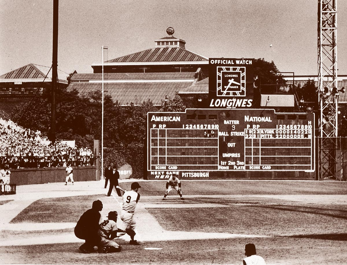 World Series Game 7, Oct. 13, 1960 | Pittsburgh Pirates second baseman Bill Mazeroski launches the game-winning home run off New York Yankees pitcher Ralph Terry. To this day, it remains the only walk-off home run in Game 7 history.