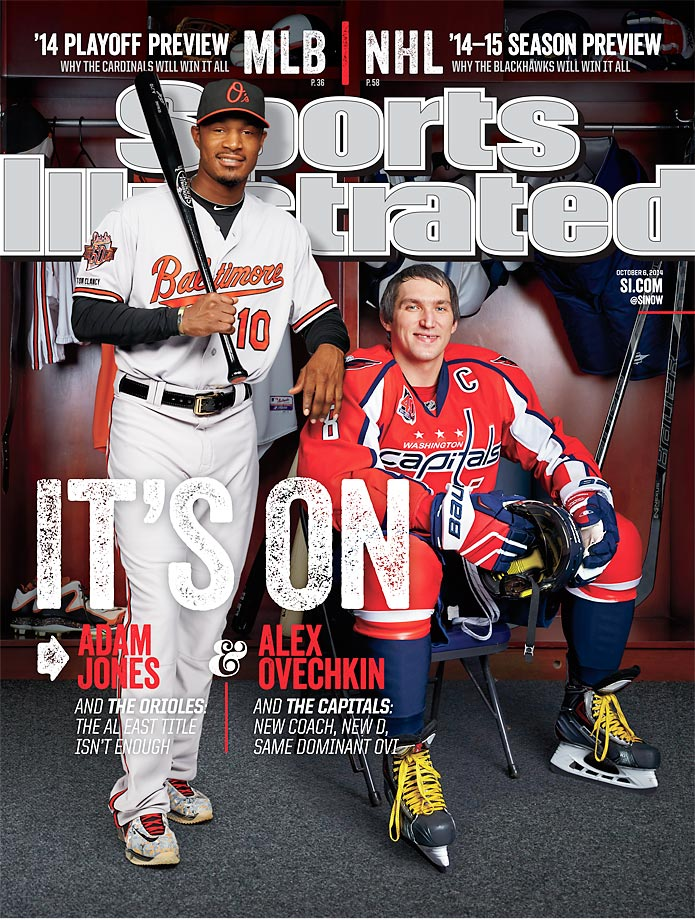 October 6, 2014 | Hoping to avoid early playoff exits, fans of the Beltway teams pins its championship hopes on Orioles outfielder Adam Jones and Capitals center Alex Ovechkin.