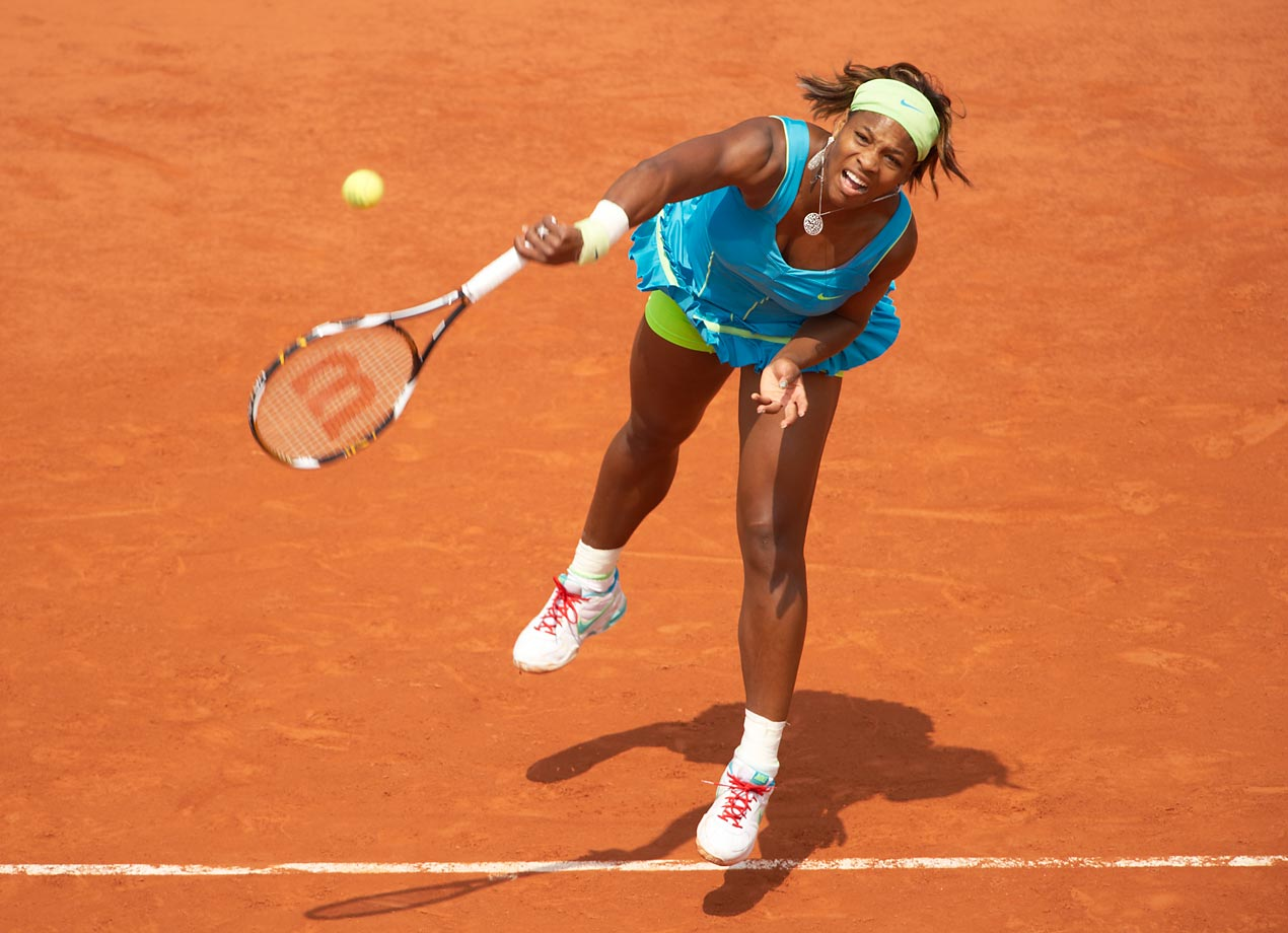 Other than her 2002 victory in the French Open, Serena had never made another final at Roland Garros. That is, until she won the 2013 edition.