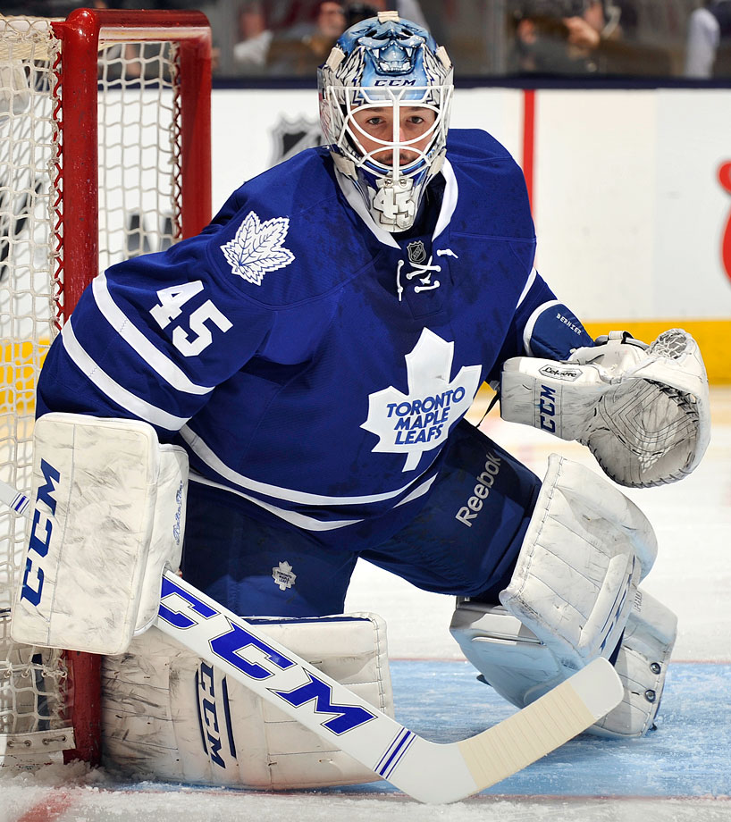 As a two-year starter in Toronto, Bernier stands out from the crowd of fringe NHLers that have worn this number. He won a career-high 26 games in 2013-14.