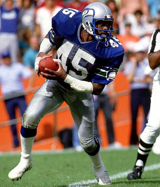 Ask just about any longtime Seahawks fan and they'll tell you Easley deserves a spot in Canton. He likely would have claimed one had a kidney disease not ended his career after seven seasons. The heavy-hitting safety made the Pro Bowl five times during that stretch, picking off 32 passes in the process.​