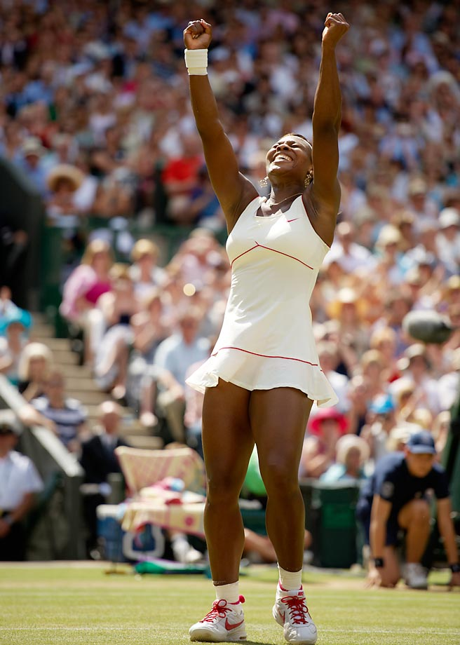 Serena didn't lose a set in winning Wimbledon in 2010.