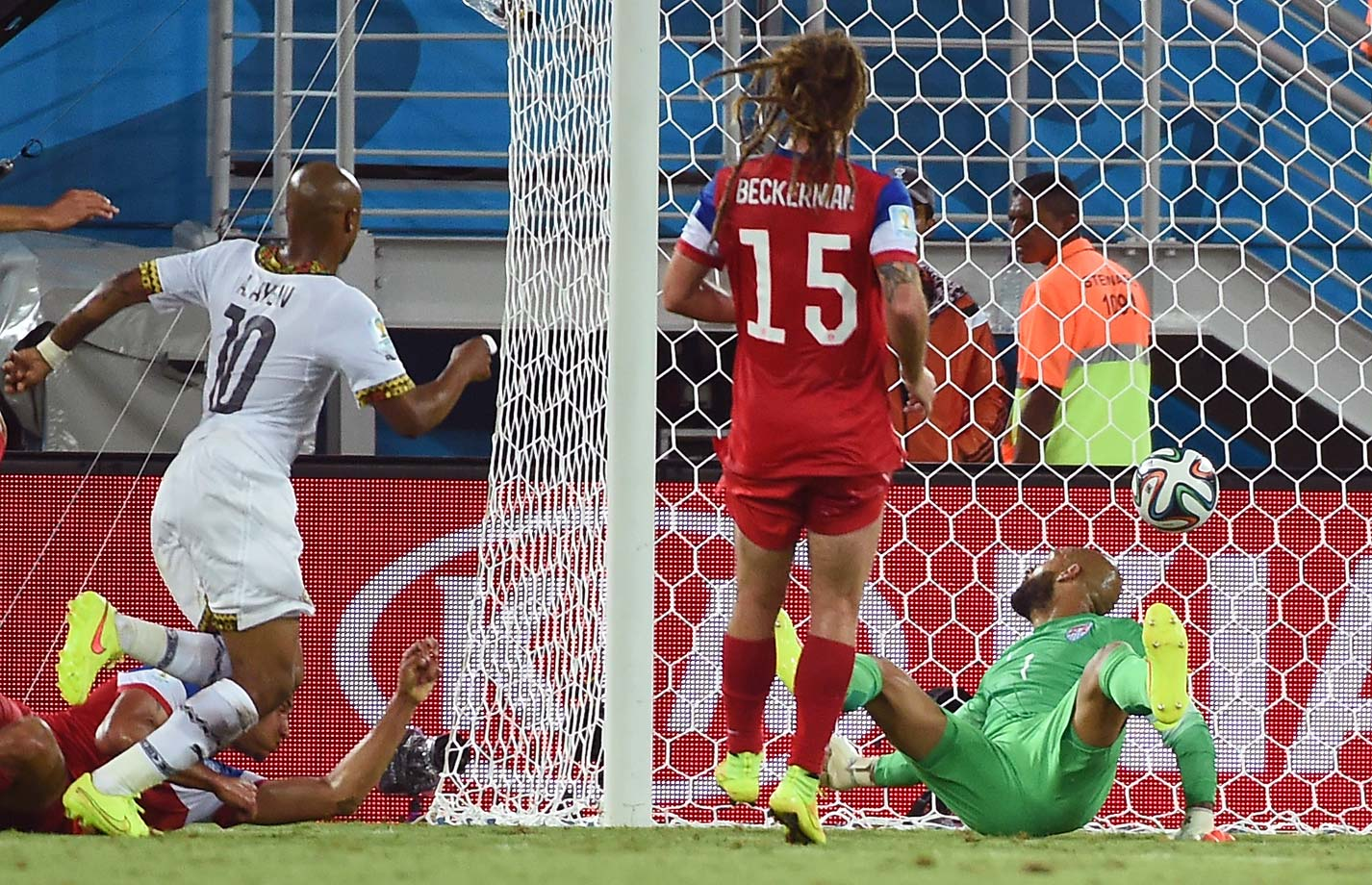 Ghana's Andre Ayew tied the match in the 82nd minute.