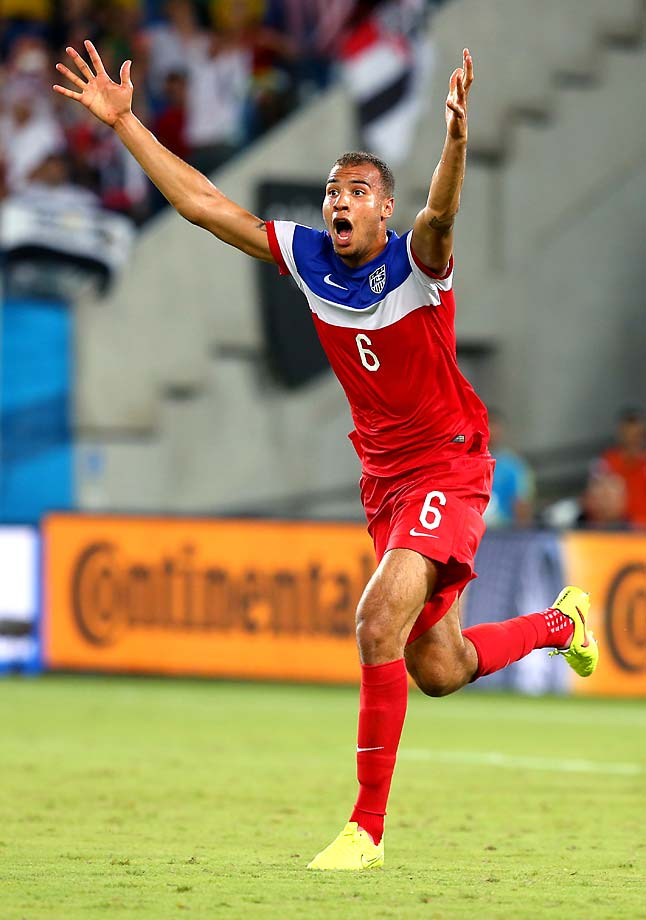 Brooks' goal put the U.S. atop Group G with Germany, with Ghana and Portugal at the bottom, which is the way things would end up after the round-robin group stage play concluded.