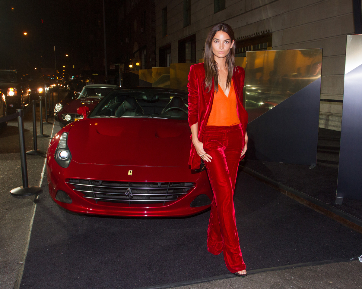 Lily Aldridge at the Harper's Bazaar Icons Party