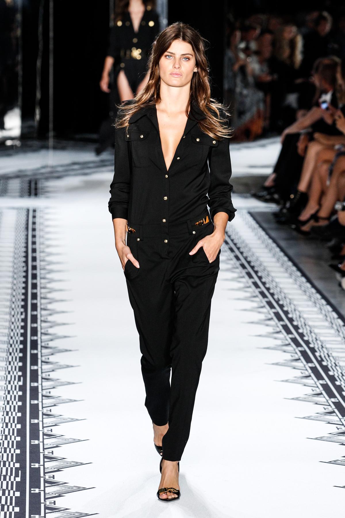 Isabeli Fontana for Versus Versace