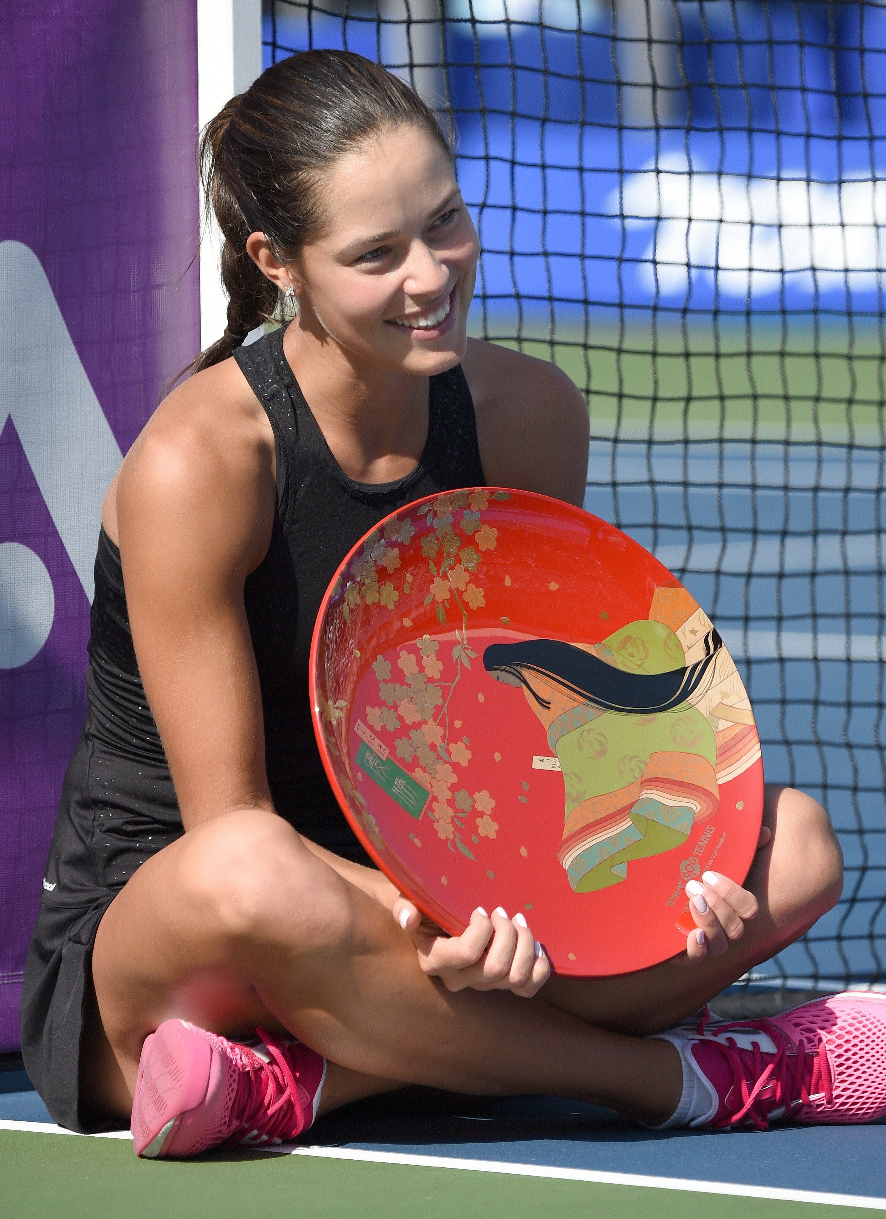 Ana Ivanovic wins the title, defeating Caroline Wozniacki in the final match.