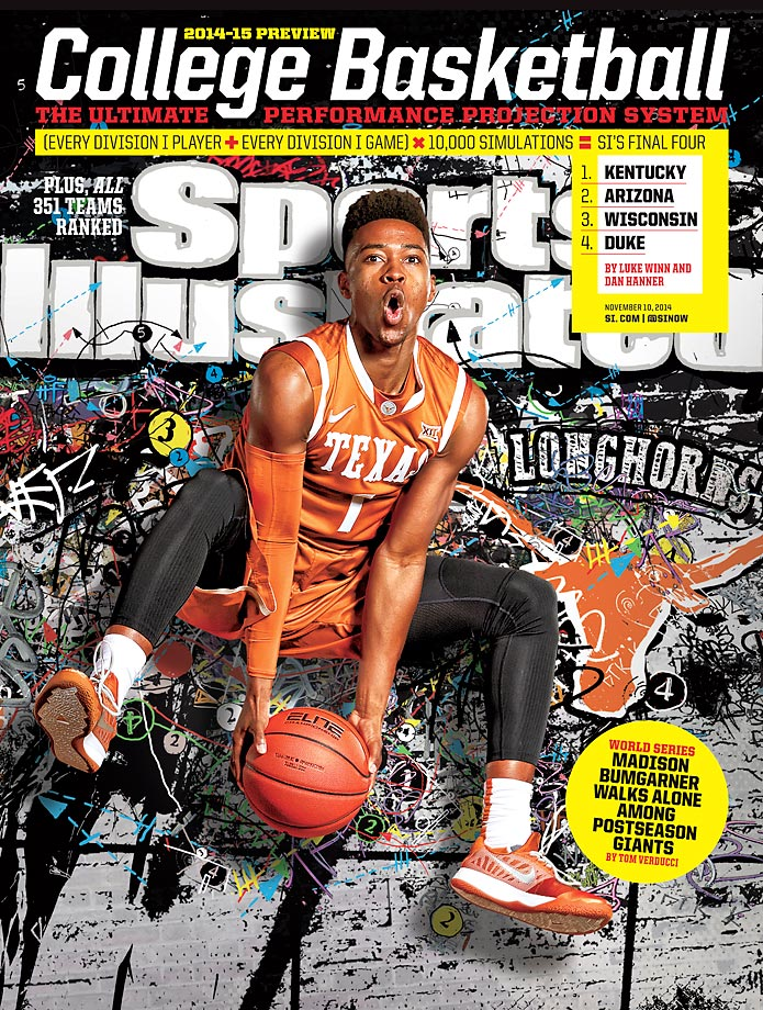 November 10, 2014 | With five returning starters plus freshman Myles Turner, Texas may just have enough to end Kansas and its 10-year stranglehold on the Big 12.