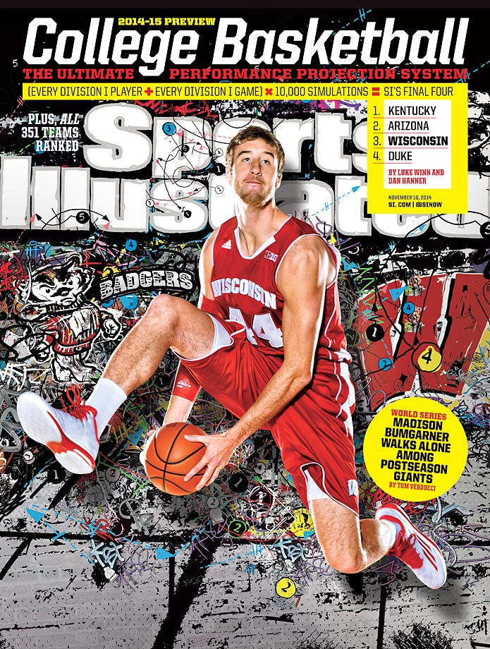 November 10, 2014 | Paced by the nation's most efficient offense, Wisconsin and Wooden award candidate Frank Kaminsky look to dethrone Michigan State as the Big Ten's top team.