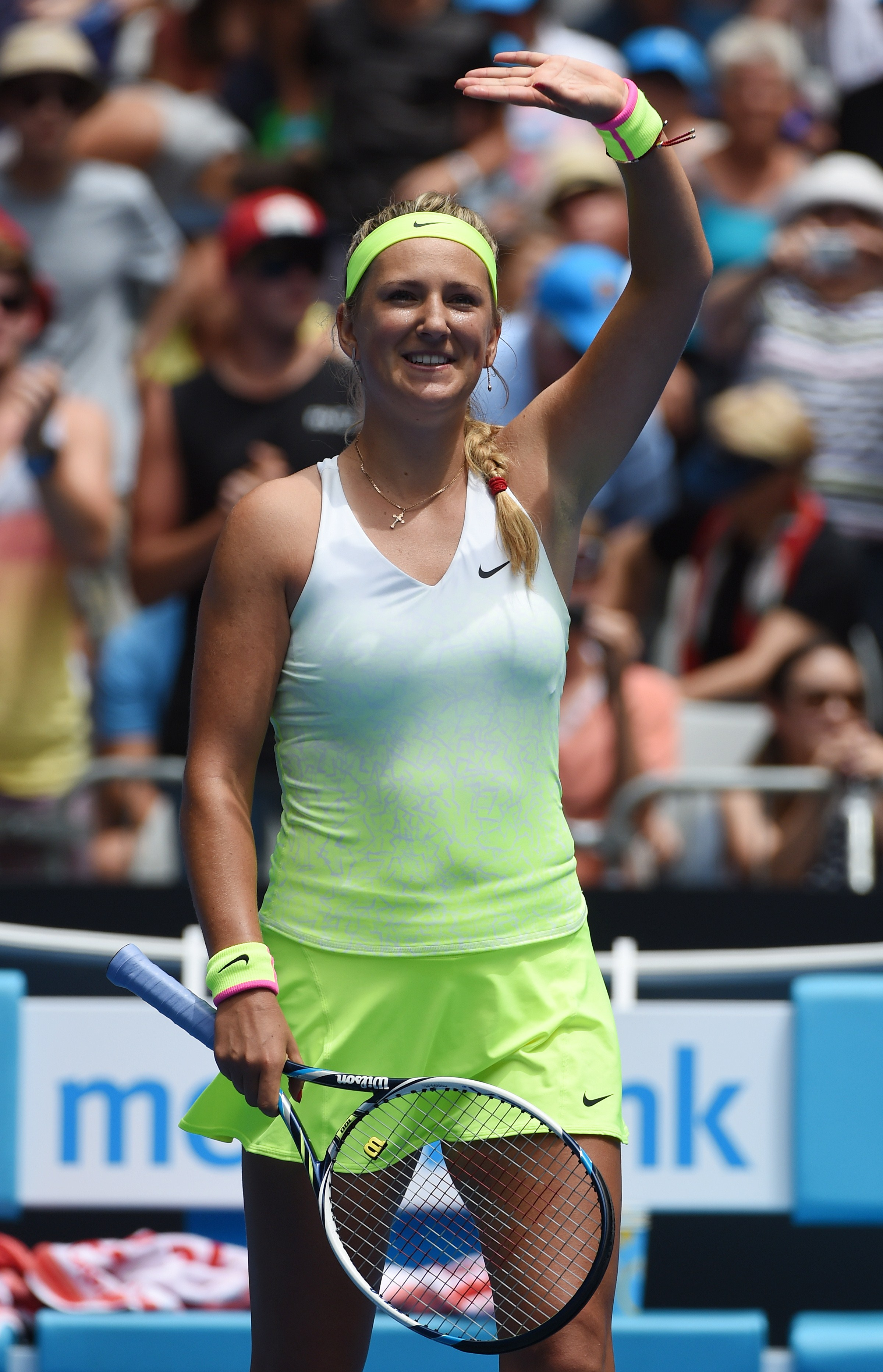 It's the women's version of Kyrgios' kit. And we like it.