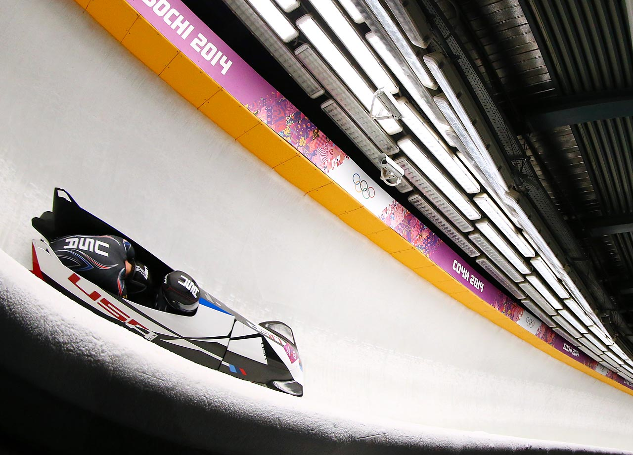 Steven Holcomb and Steven Langton won a bronze medal in the two-man bobsleigh for the U.S.