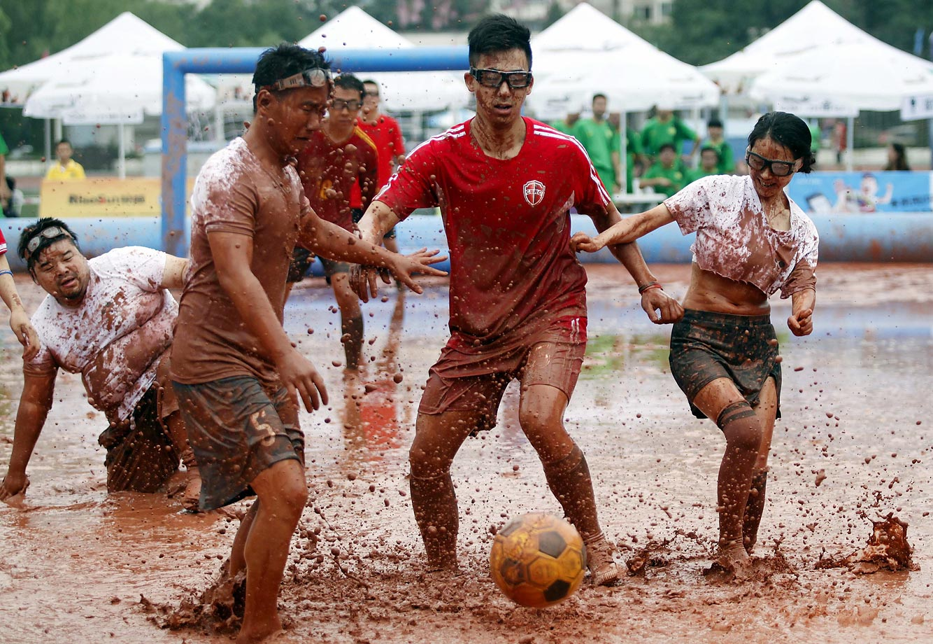 The 2015 Swamp Soccer China event in Beijing.