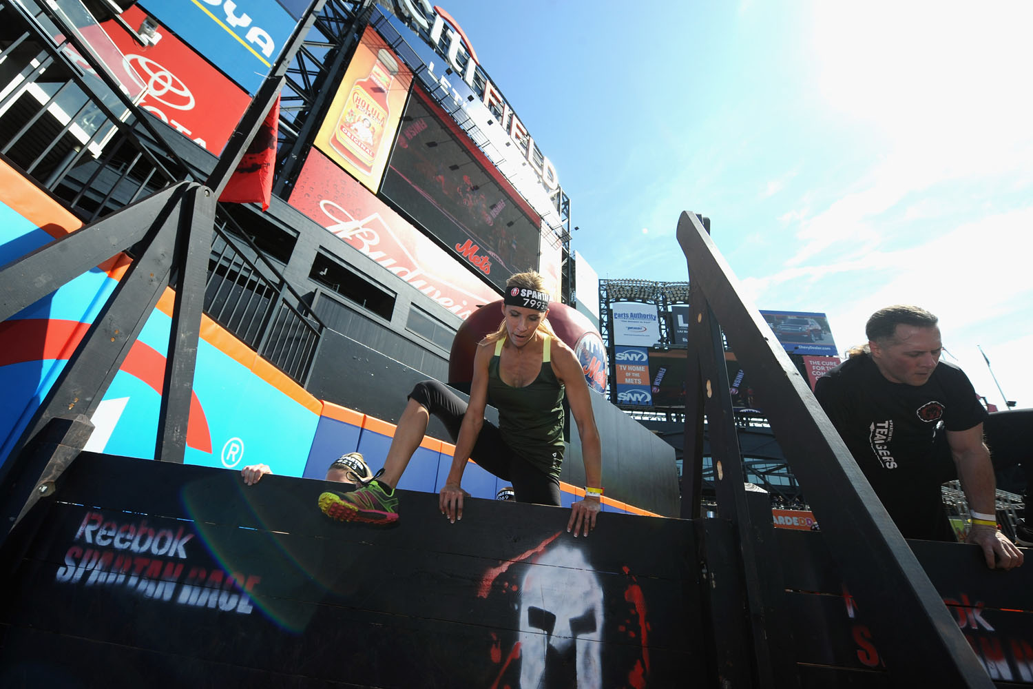 "The Spartan Race, one of the most challenging obstacle course races in the US, recently descended upon Citi Field in Queens, New York, the home of the Mets. With unprecedented access to the stadium, racers had the chance to ""throw, jump, crawl and climb on every level of the Ball Park."""