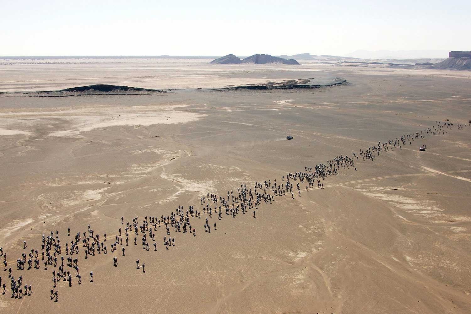 """In anticipation of the upcoming Marathon des Sables on April 4th, SI Edge takes a look back through the history of """"The Toughest Footrace on Earth."""""""