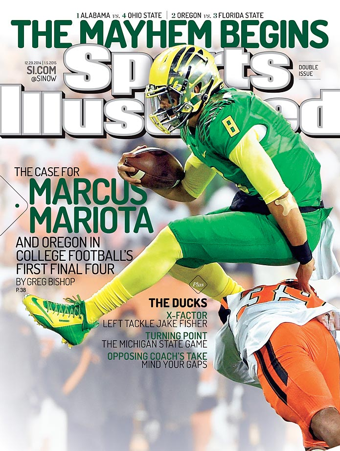 December 29, 2014 | Oregon's high-powered offense led by Heisman Trophy winner Marcus Mariota looks to lead the Ducks to their first national championship.
