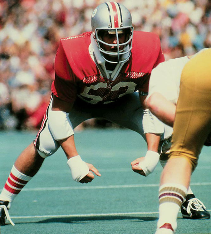 An All-America linebacker in 1972 and 1973, Gradishar led the Buckeyes to two Rose Bowls. — Runner-up: Clay Shiver, C, FSU (1992-95)