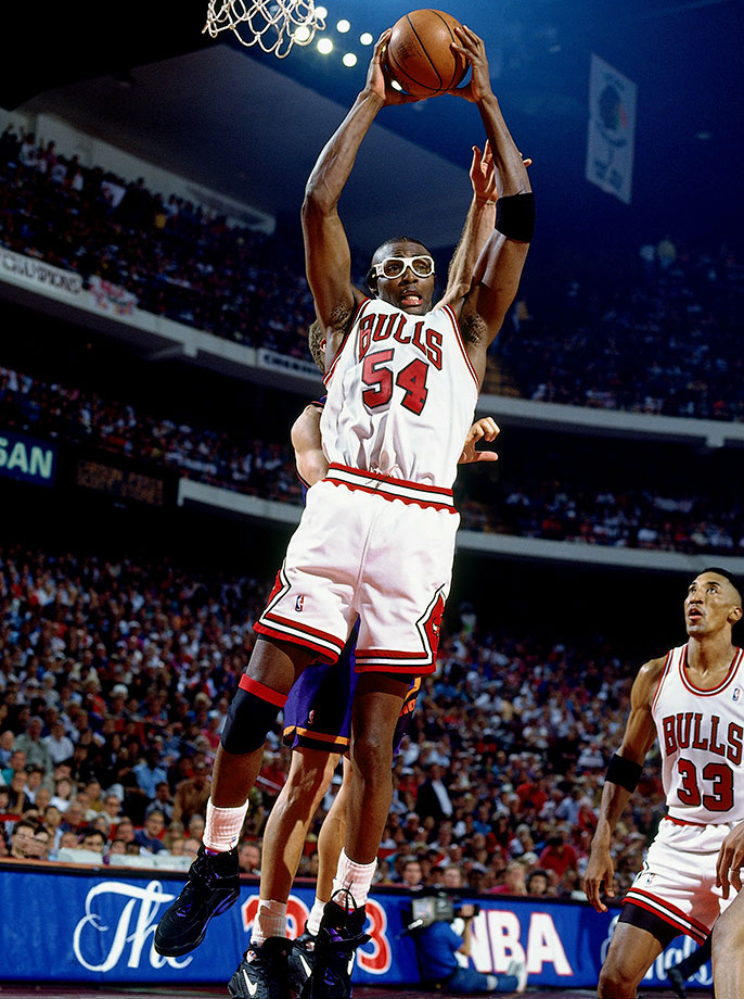 The Bulls drafted Grant five picks after Scottie Pippen in 1987, two moves that would greatly add to the cast around Michael Jordan and lead to Chicago's first three-peat. Grant left the Bulls after an All-Star season in 1994. He never quite hit that peak again, but Grant was an effective two-way player and would earn another ring with the Lakers in 2001.