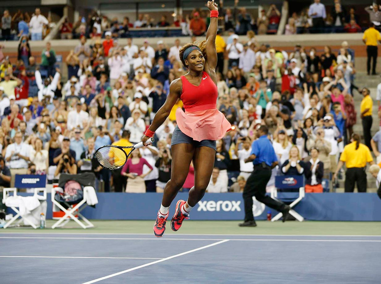 Serena wins the U.S. Open against Victoria Azarenka in 2013.