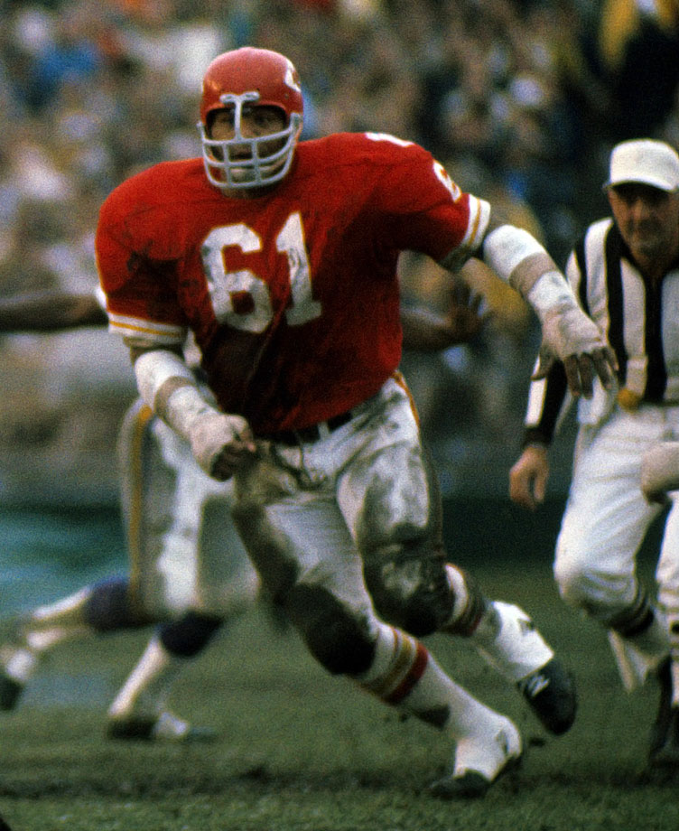 The prototype of the modern-day nose tackle, Culp manned the middle of some special defenses, including the Kansas City squad that beat the Vikings in Super Bowl IV. During his time in Kansas City and Houston, he was a mainstay on two of the NFL's first true 3-4 defenses, recording his finest season in 1975, when he finished with 11.5 sacks, a rare total for an inside player.