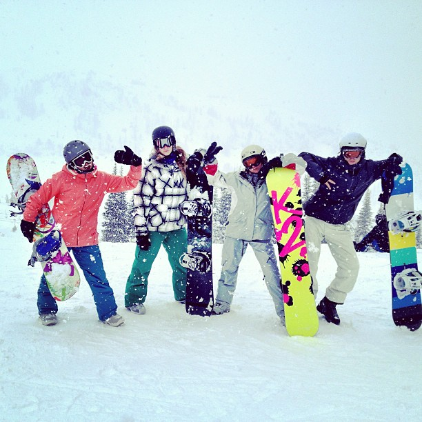 Pardon me—snowboards.
