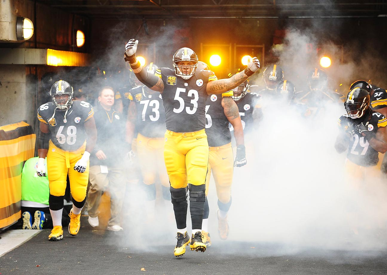 Pittsburgh's line, a liability for years, became a strength in 2014. It starts with right guard David DeCastro and center Maurkice Pouncey (pictured), as powerful and as skilled a duo as you'll find. Left tackle Kelvin Beachum allowed a team-high seven sacks in 2014, but none after Week 10. Right tackle Marcus Gilbert and left guard Ramon Foster have room to improve, and if they do, Pittsburgh might just have the NFL's most dangerous offense in 2015.