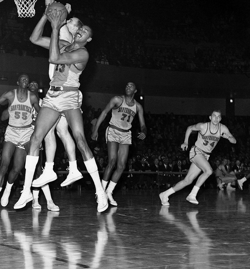 A four-time All-Star, Willie Naulls starred for the New York Knicks during the late 1950s and early 1960s. From 1959 to 1962, Naulls averaged over 20 points and 10 rebounds before game. He wore No. 71 for the Golden State Warriors for 47 games in the 1962-93 season after the Knicks traded him for Tom Gola. — Runners-up: McCoy McLemore, Bob Wiesenhahn