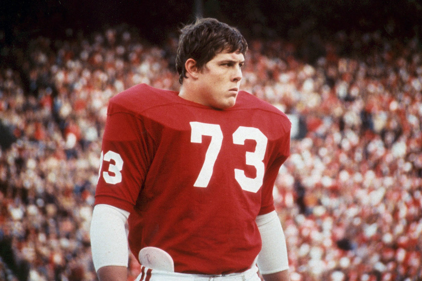 When God created the perfect tackle, he likely had Hannah, a two-time All-America, in mind. Said Bear Bryant, his coach at Alabama: ''In over 30 years with the game, he's the finest offensive lineman I've ever been around.'' — Runner-up: Mark May, T, Pittsburgh (1977-80)