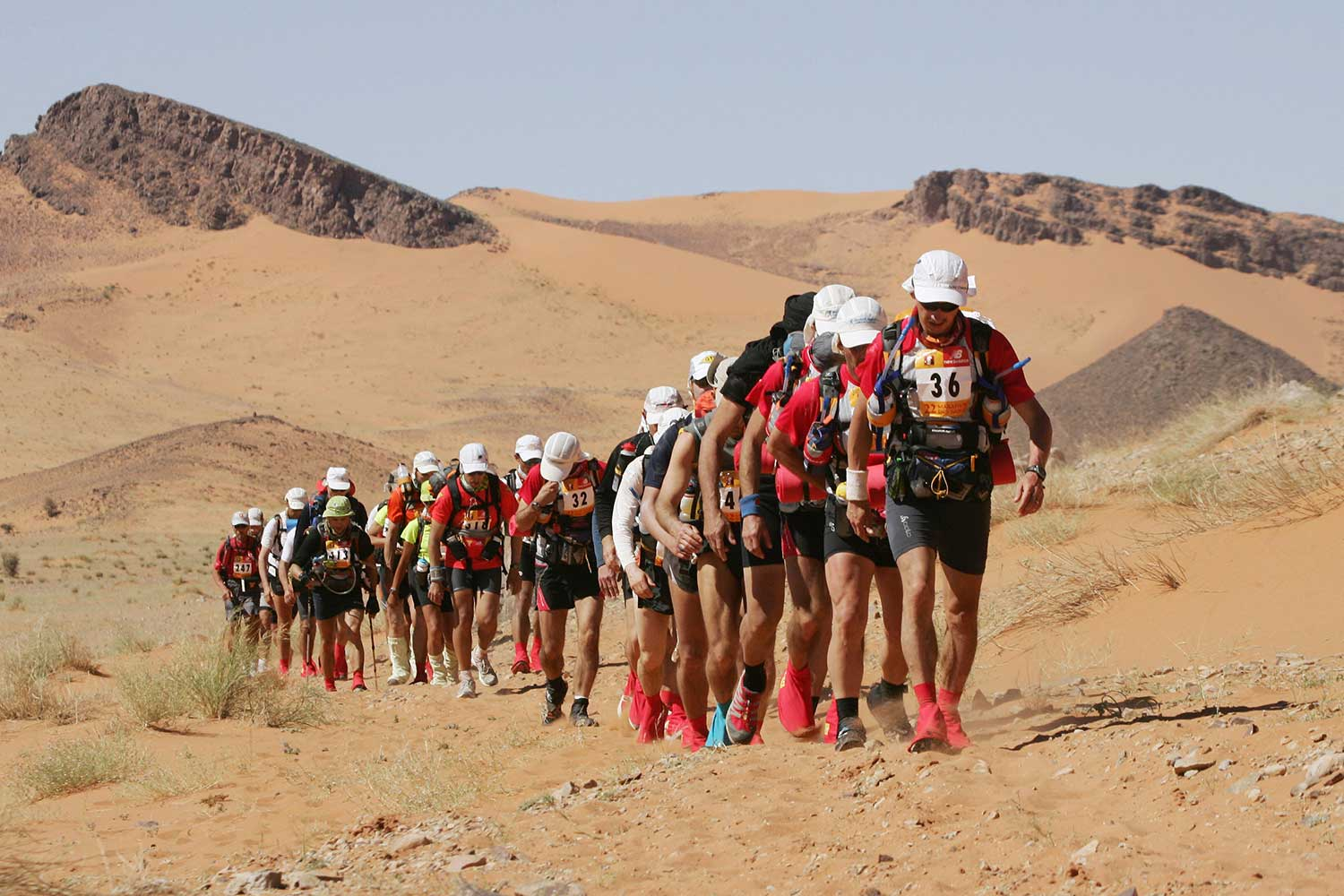 "In anticipation of the upcoming Marathon des Sables on April 4th, SI Edge takes a look back through the history of ""The Toughest Footrace on Earth."""