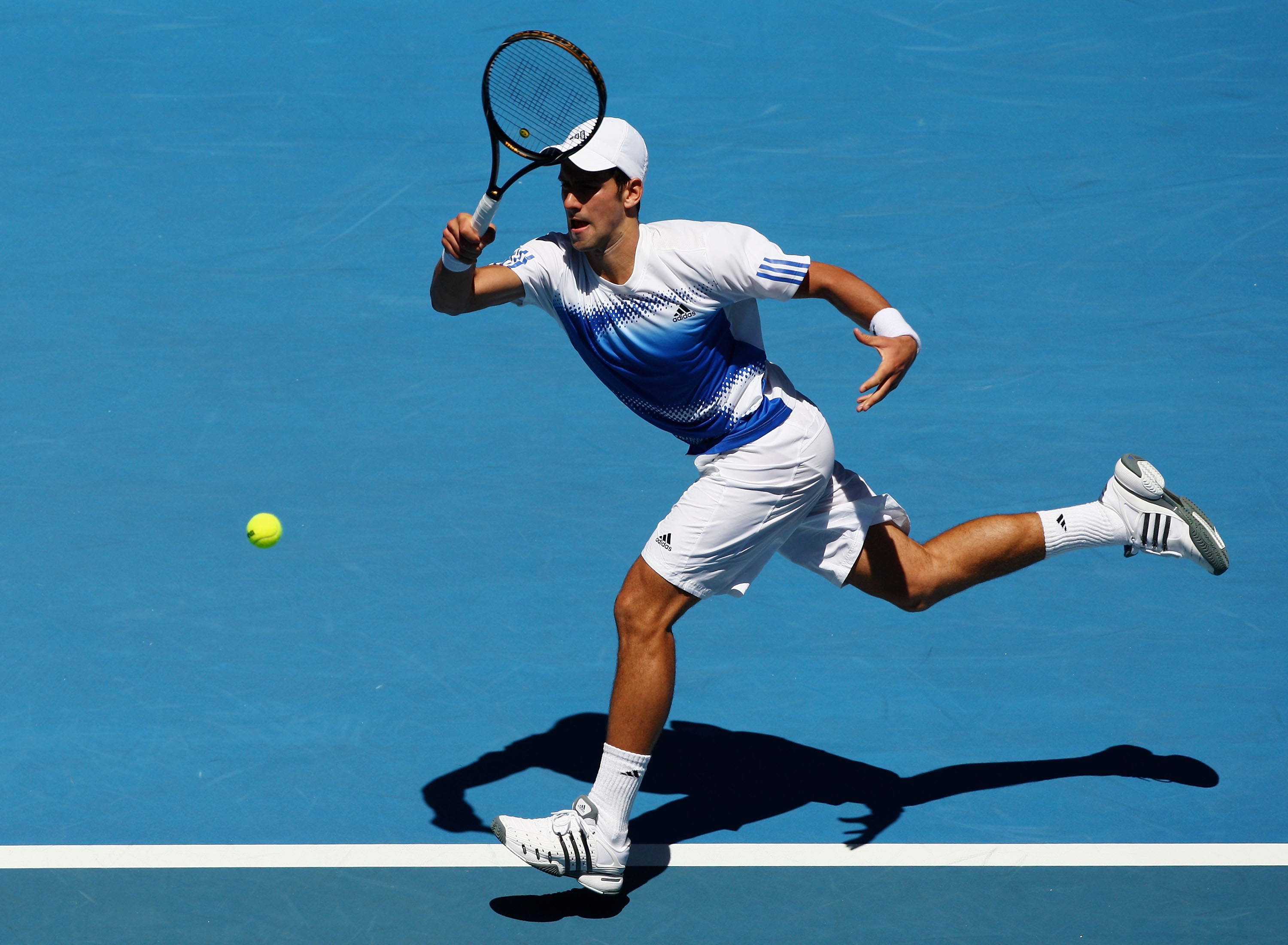 This is the season Djokovic's on-court fashion took flight, beginning in Melbourne at the Australian Open.