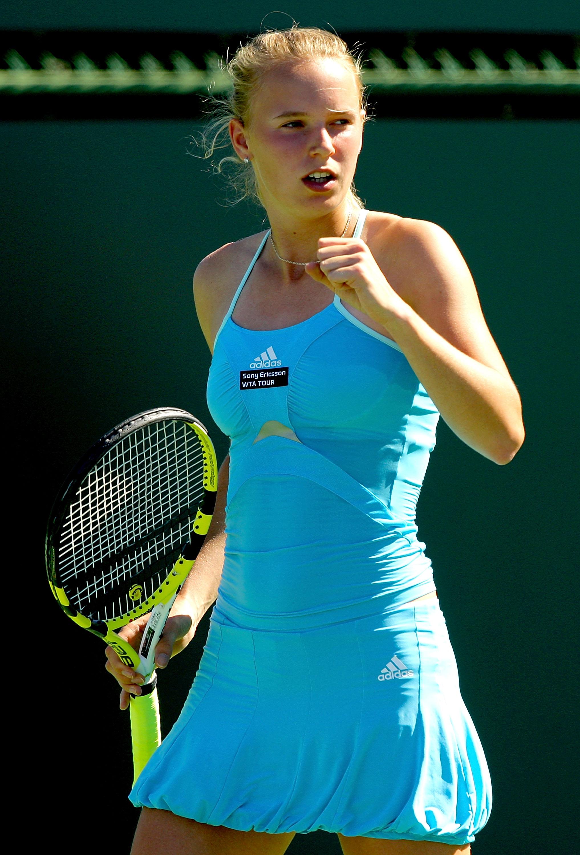 Wozniacki won the WTA Newcomer of the Year in 2008, finishing the season ranked No. 12.