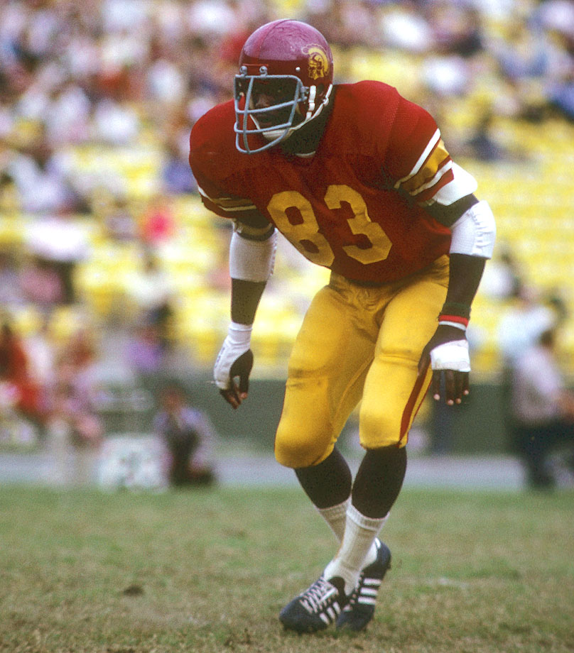 Wood won two national championships as a Trojan and did something that neither Reggie Bush, Matt Leinart, O.J. Simpson nor Lynn Swann ever did: He is USC's only three-time All-America. — Runner-up: Kellen Winslow, TE, Missouri (1975-78)