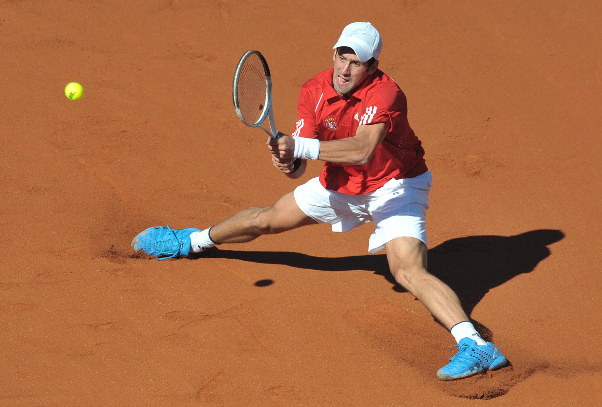 Djokovic's blue kicks were an all-time favorite...