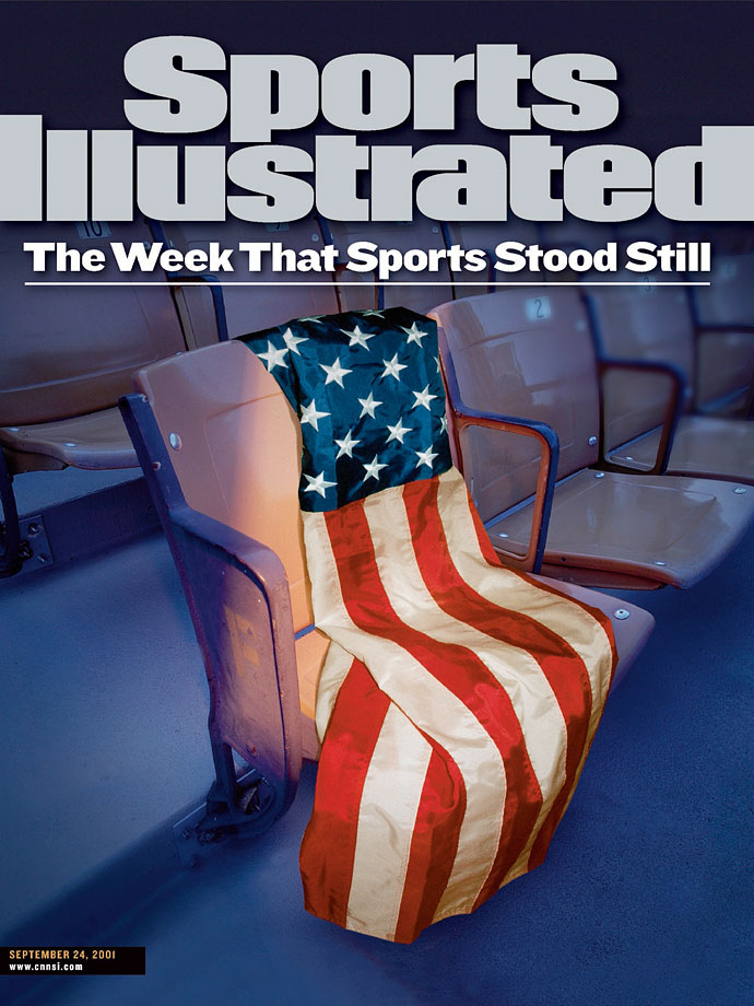 The Sept. 24, 2001, cover of Sports Illustrated.