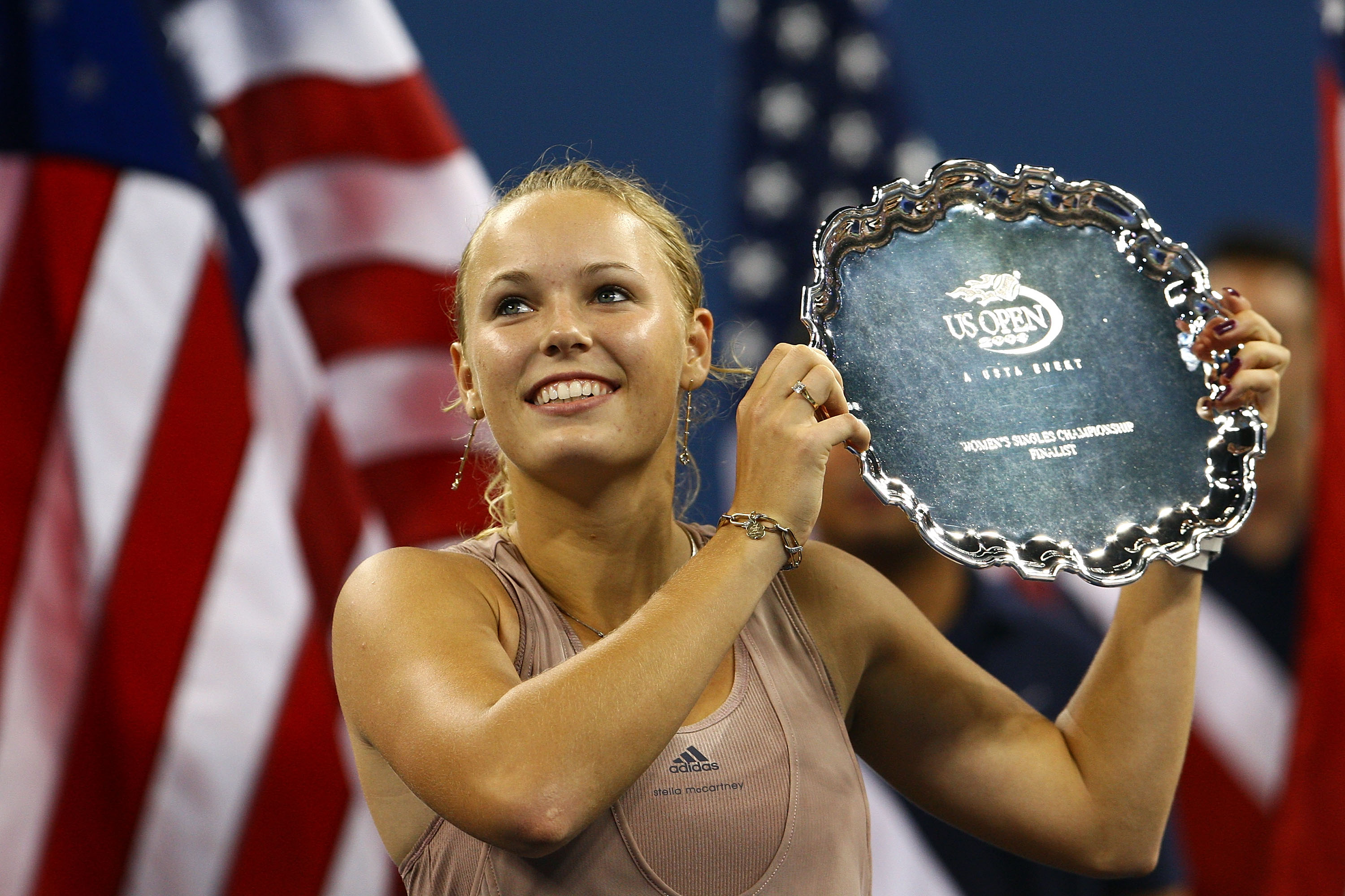 Wozniacki knows how to activate a sponsorship. Just months after signing the Stella deal, she makes her first Slam final at the U.S. Open.
