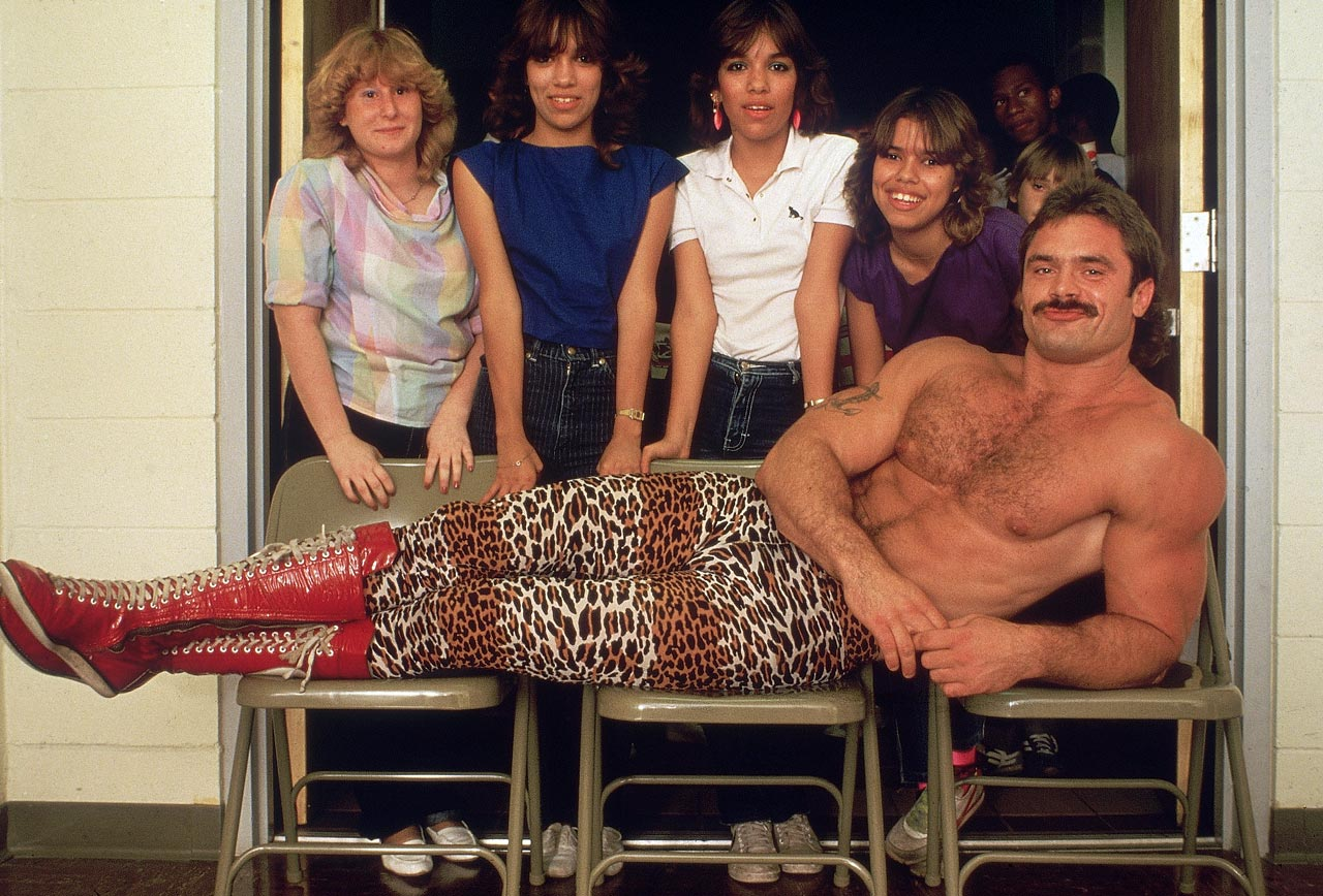 Rick Rude was not only one of the most popular wrestlers of the 1980s, but also quite the ladies man.