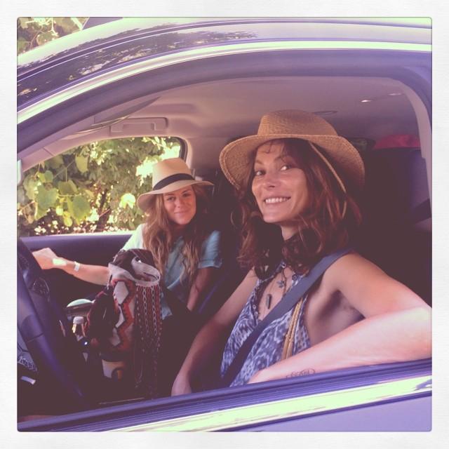 Girlies at the wheel @galloping_on_gwap
