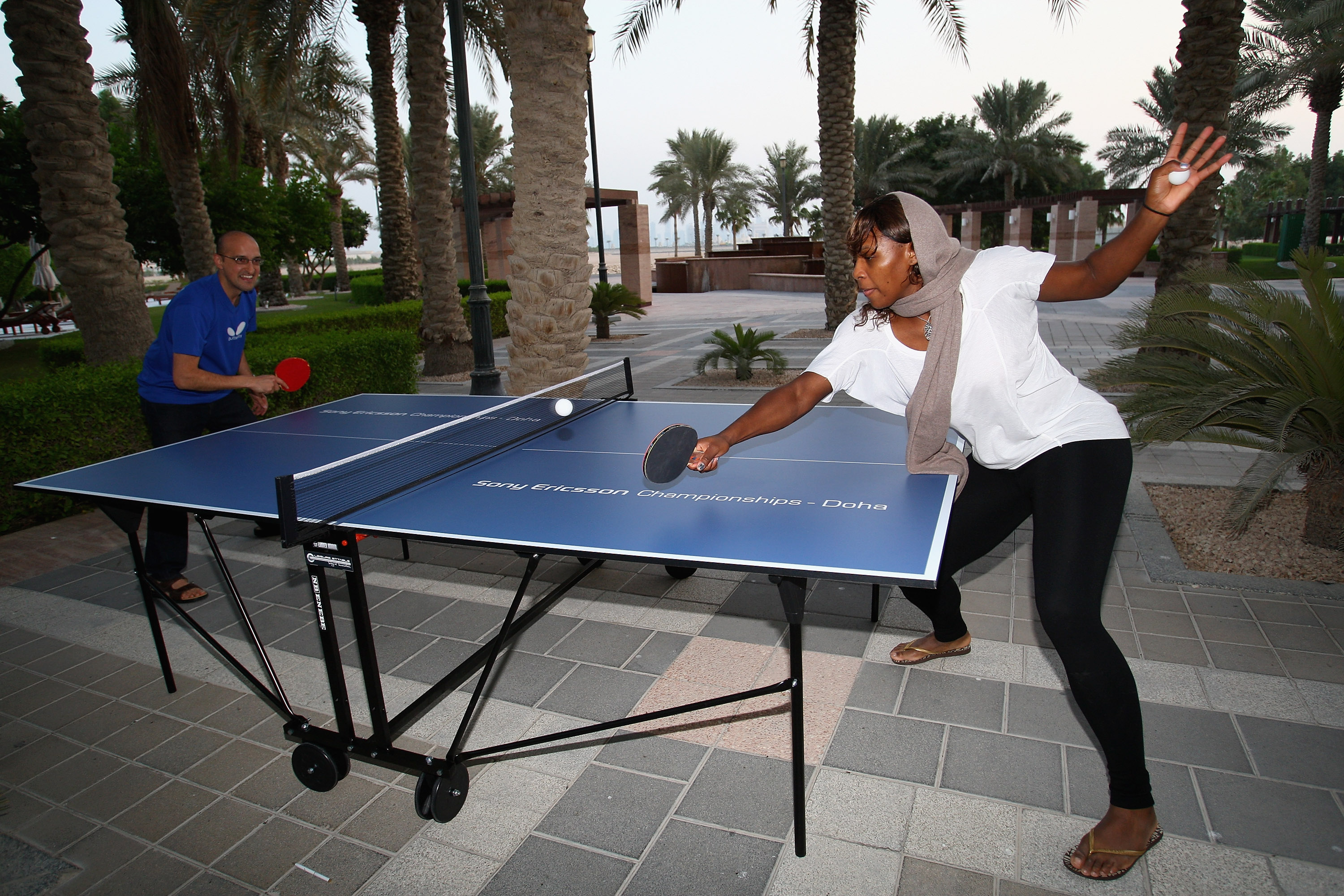 But not in ping pong.