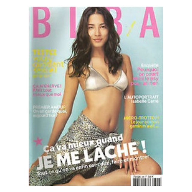 Happy Bastille Day! #throwback #2005 #biba #cover #frenchmag #summervibes #oldschool