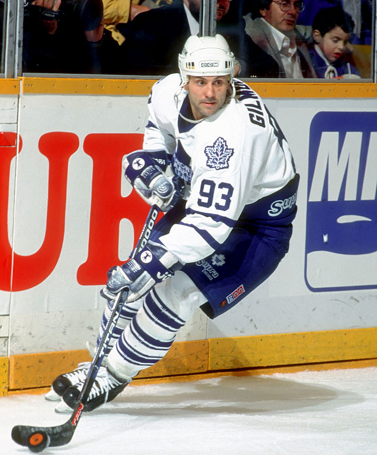 It's tough to remember that he first wore 18 with the Blues (1984) and 39 with the Flames (1989-92) before making 93 his own. Killer carved out a Hall of Fame career (Class of 2011) with a pair of 110-plus points seasons in Toronto and the 1992-93 Selke Trophy as the league's best defensive forward.
